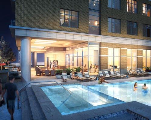 Aris Market Square Pool Deck