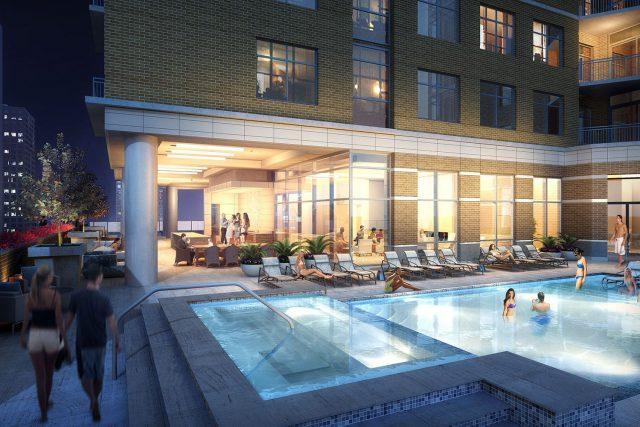 Houston Market Square Pool Deck